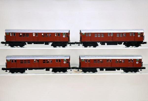 261: MTH RailKing 30-2198-1 R1 Subway Set - 2