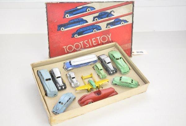 355: Scarce Boxed TootsieToy Motors Set 5200