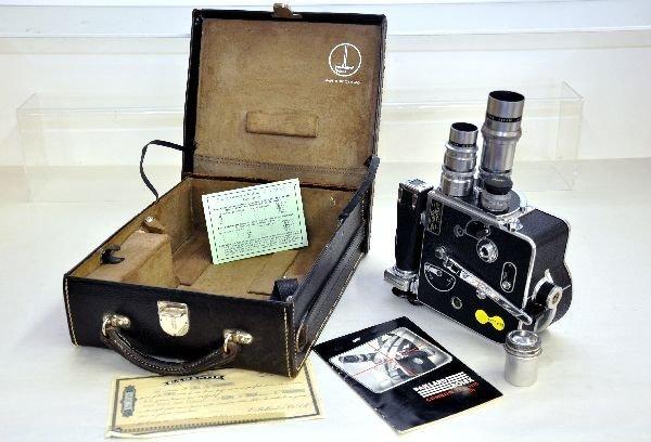 401: 1940 Paillard Bolex Movie Camera