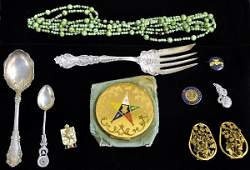 473: Vintage Costume Jewelry & assorted Items