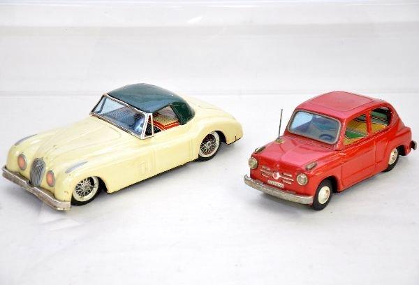 12: Bandai Jaguar & Fiat