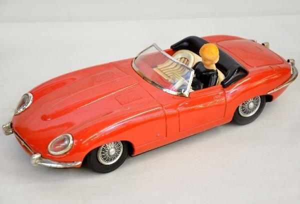 17: Large Tomiaya Tin Jaguar XKE