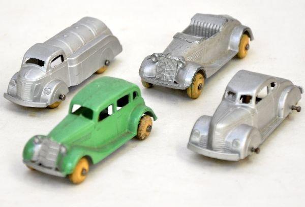 18: 4 Prewar TootsieToy Vehicles