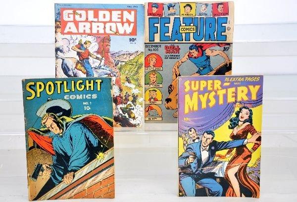 20: 4 Golden Age Comics