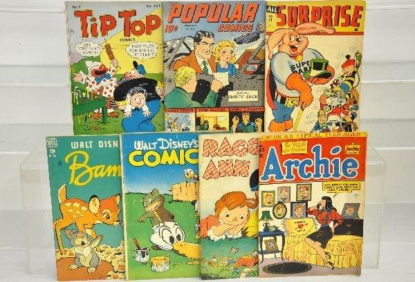 21: 7 Golden Age Comics