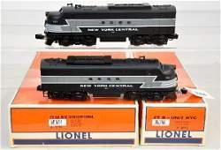 286: Lionel MTH NYC Passenger Set