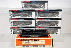 324: 8 Pc Lionel NYC Diesel Passenger Set