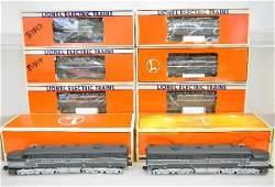 352: 8 Pc Lionel NYC Diesel Passenger Set