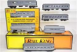 MTH RailKing NYC Dreyfuss Passenger Set