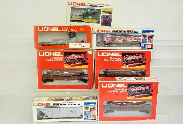 7 Lionel MPC Freight Cars