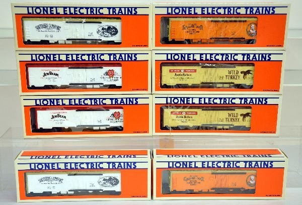 8 Lionel Liquor Reefers