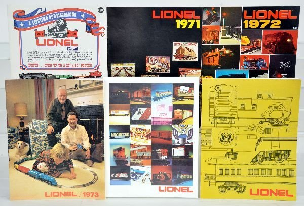 Lionel Catalogs & Antique Toy Worlds