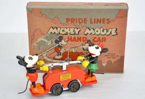 Pride Lines 100 Mickey Mouse Hand Car