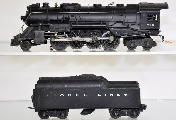 Lionel 736 Berkshire Steam Loco