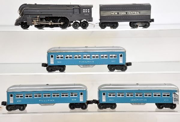5 Pc Lionel 221 Passenger Set