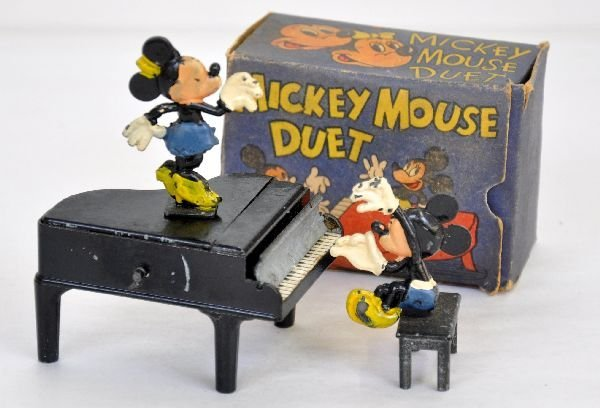 Scarce Salco Mickey Mouse Duet