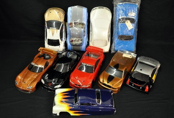 1/10 Scale American Muscle RC Car Shells Painted