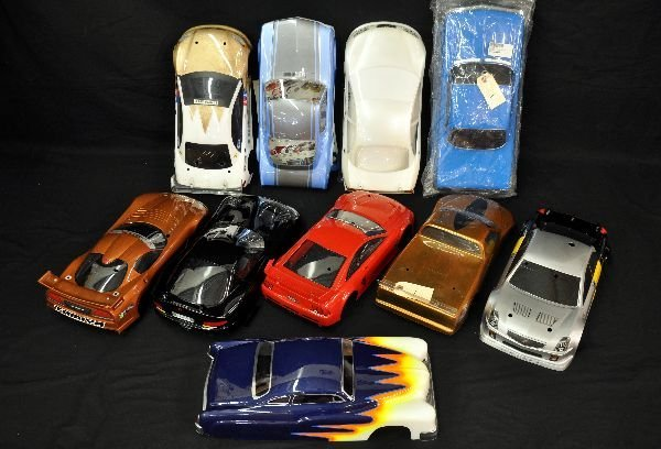 1/10 Scale American Muscle RC Car Shells Painted - 2