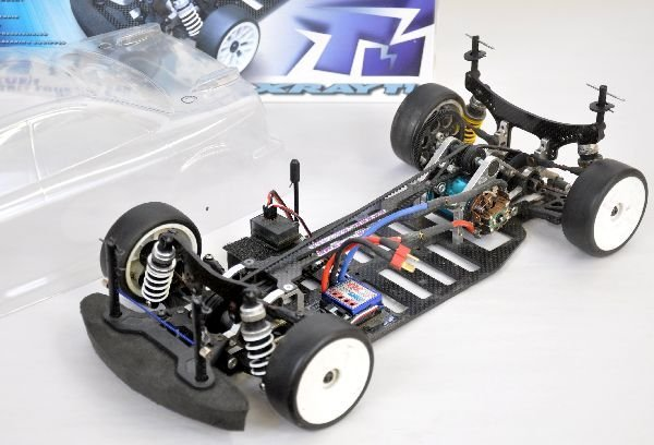 X RAY T1 RC Car and Clear Shell - 2