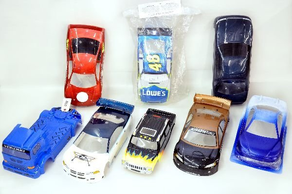 1/10 Scale Domestic RC Car Shells Painted