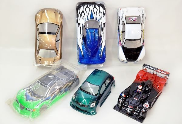 1/10 Scale Import RC Car Shells Painted