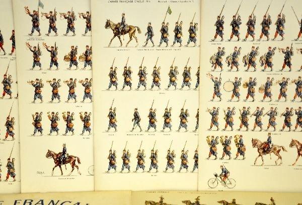 Scarce Jean Auge Paper Soldier Books - 4