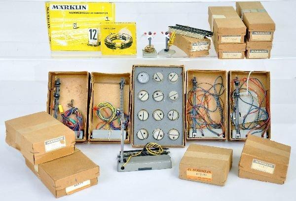 1950s Boxed Marklin HO Accessory Lot