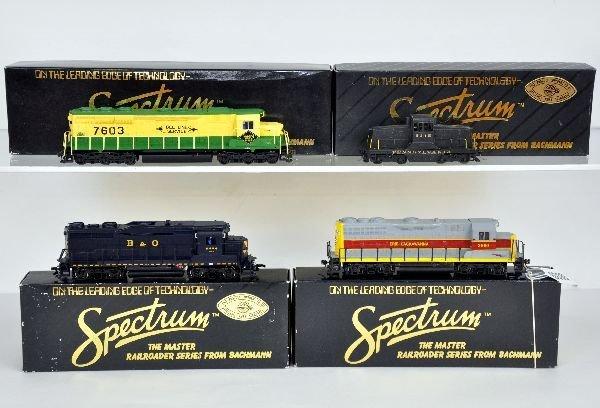 4 Bachmann Spectrum HO Diesels