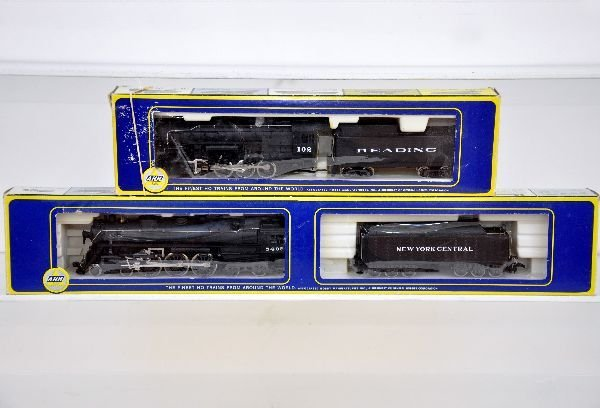 2 AHM HO Steam Locomotives