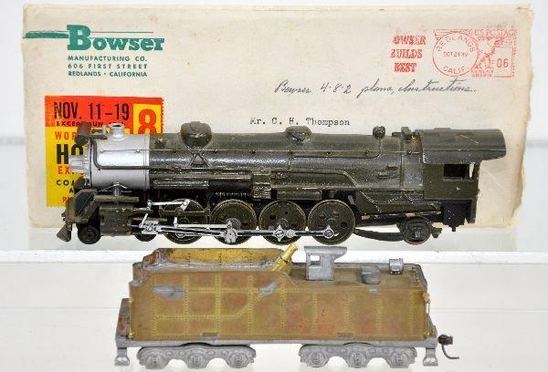 Bowser Brass HO Mountain Steam locomotive