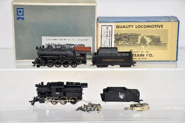 2 HO Brass Locomotives, TLC