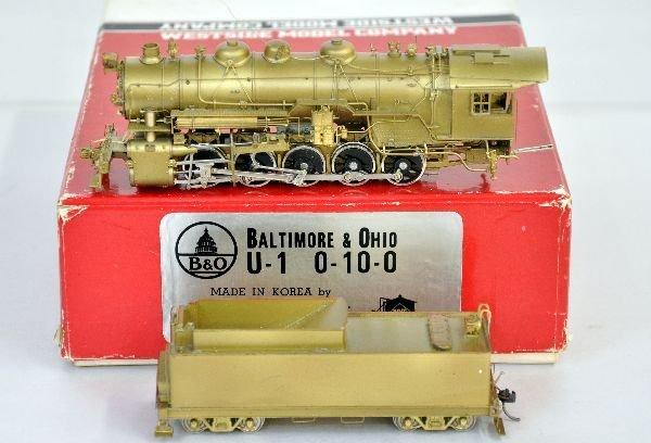 Westside HO Brass B&O U-1 Steam loco
