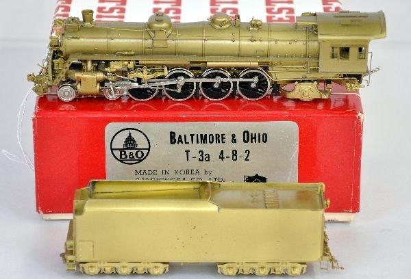 Westside HO Brass B&O T-3a Locomotive