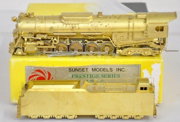 Sunset HO Brass PRR J1a Locomotive