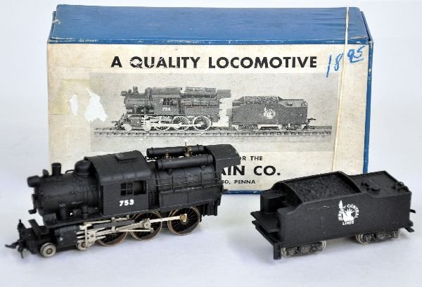H.O. Train Company CNJ HO Brass Camelback