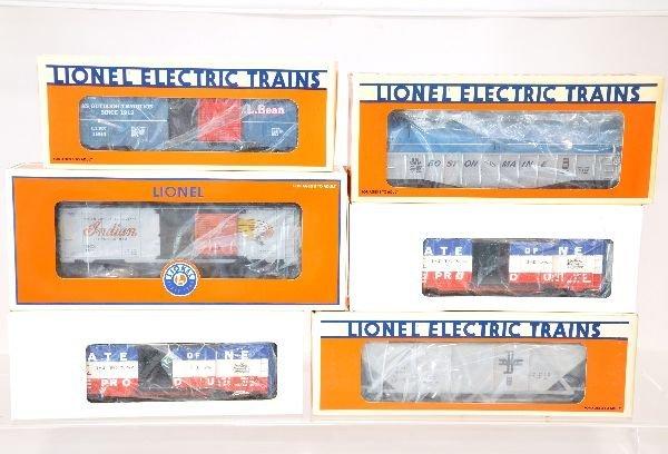 6 NETCA Freight Cars