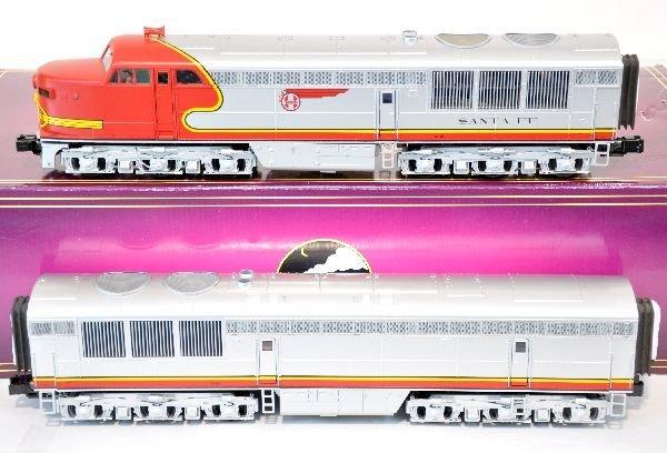 MTH Santa Fe AB Diesel Set 20-2490-1