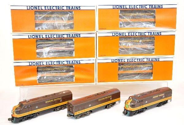 Lionel Illinois Central Passenger Set