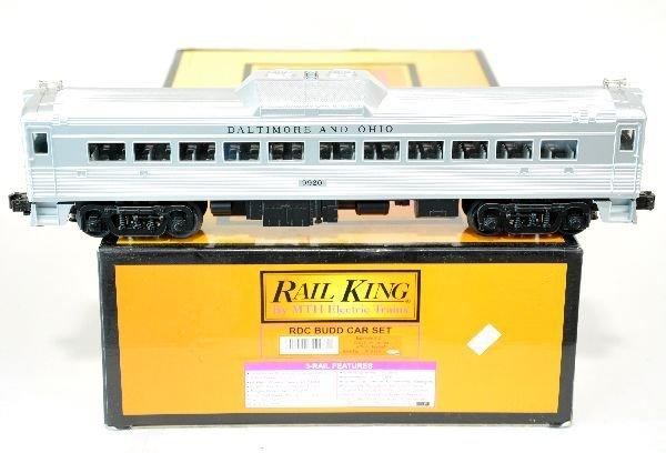MTH RailKing B&O RDC Budd Car Set  30-2144-1