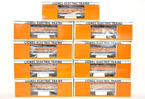 9 Lionel TCA Passenger Cars