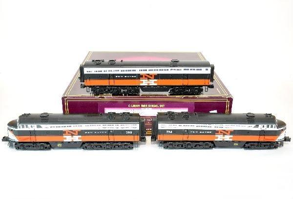 MTH New Haven C-Liner ABA Diesel Set 20-2415-1