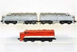 3 Lionel Alco Diesels