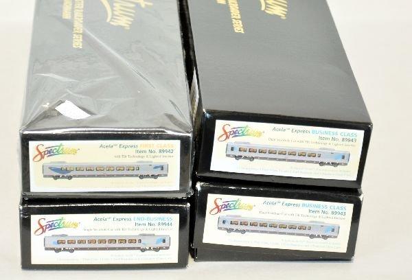 Extended Boxed HO Bachmann Acela Set - 4