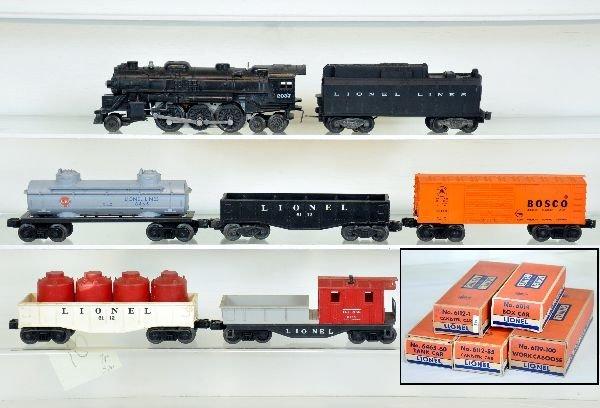 7Pc Lionel Steam Freight Set