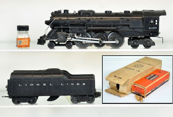 Boxed Lionel 2056 Hudson Locomotive