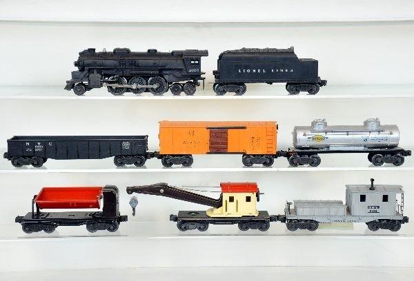 8Pc Lionel Steam Freight Set
