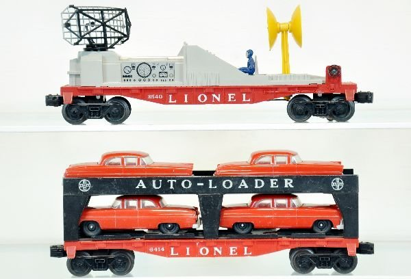 Lionel 6414 & 3540 Freight Cars