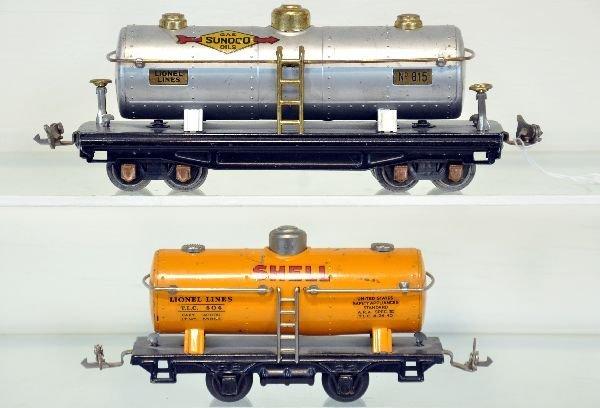 Lionel 815 & 804 Tank Cars
