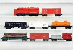 8Pc Lionel Diesel Freight Set