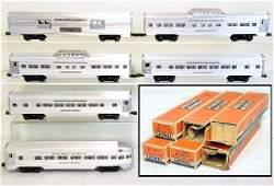 6 Clean Boxed Lionel Passenger Cars